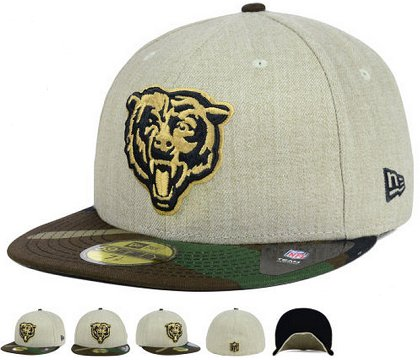 Chicago Bears Fitted Hat 60D 150229 44